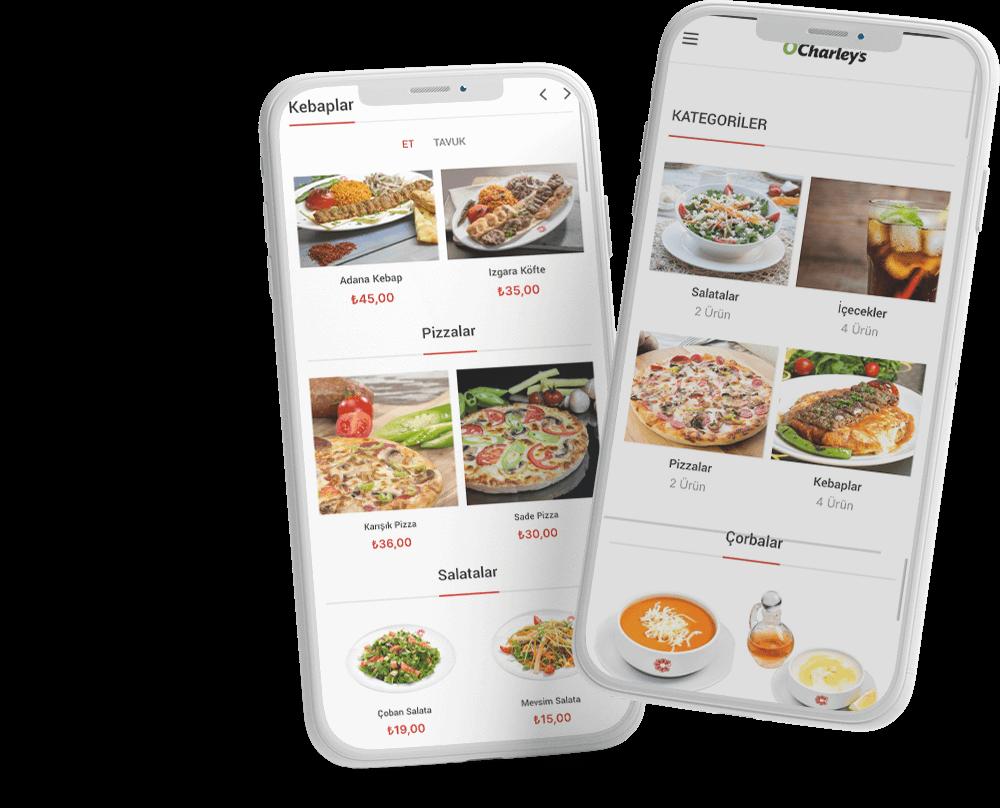 mobil menü